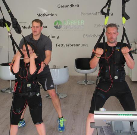 EMS Training im Körperspannung