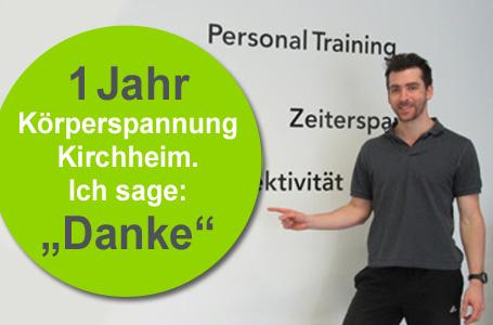 1 Jahr Körperspannung Kirchheim!