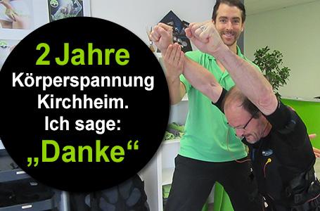 2 Jahre Körperspannung Kirchheim!